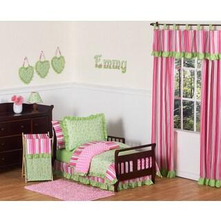 Sweet Jojo Designs Girl 5-piece Olivia Boutique Toddler Comforter Set