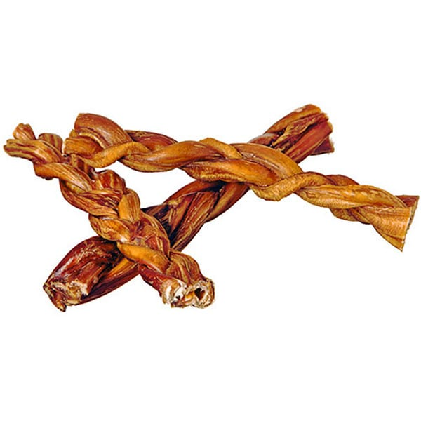 Red Barn 7-inch Braided Bully Stick Dog Treat (6-pack)