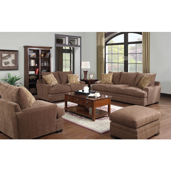 Emerald Latrice Brown 4-piece Livingroom Set