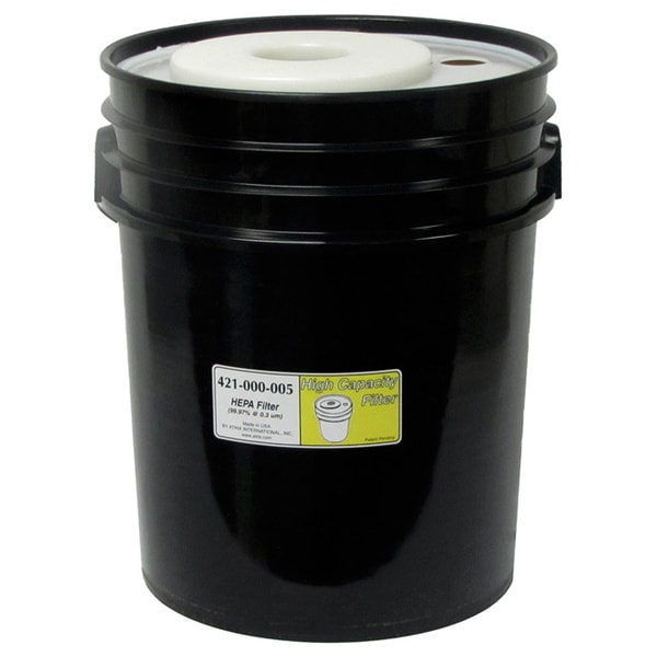 HEPA 5-gallon Black Filter 12292573