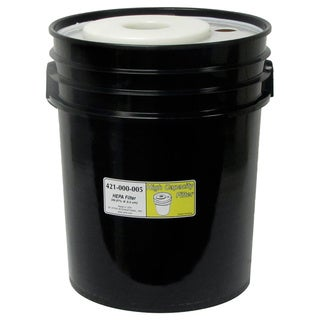HEPA 5-gallon Black Filter