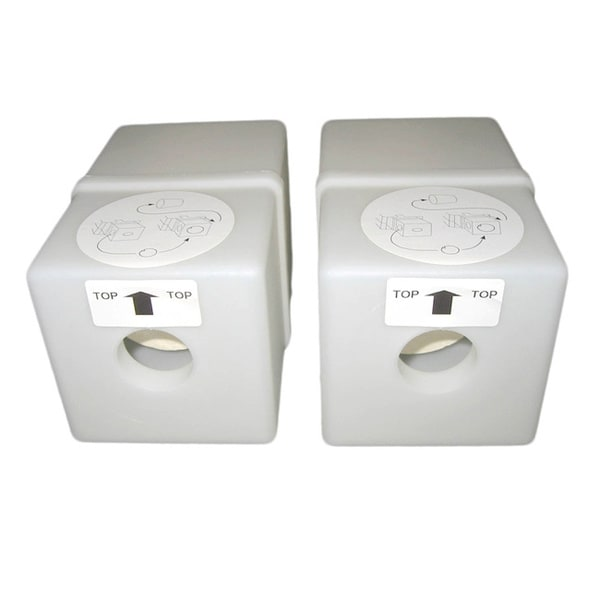 Express White Toner Filter (Pack of 2)