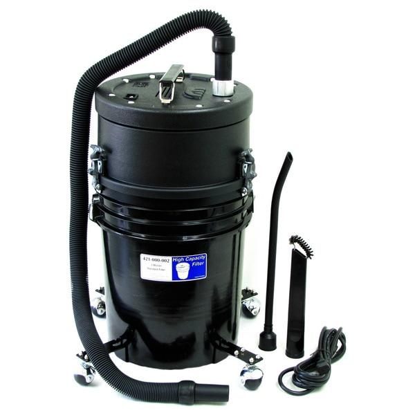Atrix Elated Capacity HEPA Vacuum [ATIHCTV5CT] - 745.70 W Motor - 5 gal - 10 ft Hose Length - HEPA - 725.6 gal/min