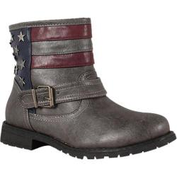 Women's Wild Diva Kacy-16 Grey Faux Leather