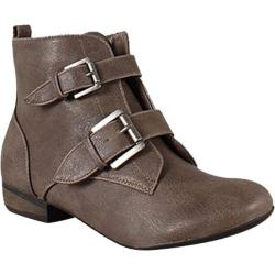 Women's Wild Diva Odell-04 Taupe Faux Leather