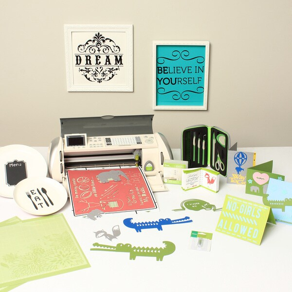 Cricut Expression Die Cutting Machine Home Decor Bundle