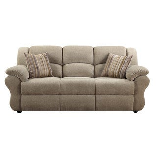 Loda Grey Sofa with Accent Pillows