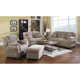 Loda 4-piece Grey Living Room Set