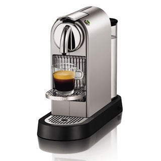 Nespresso D110 Silver CitiZ Espresso Maker (Refurbished)