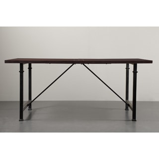 Renate Coffee Metal/ Wood Dining Table