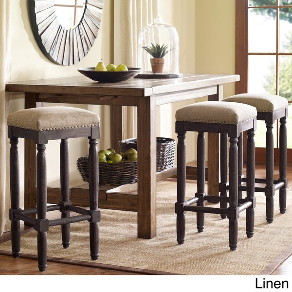 Renate Coffee Bar Stools Set Of 2 Overstock Shopping