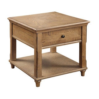 Grand Rapids Rustic Latte End Table