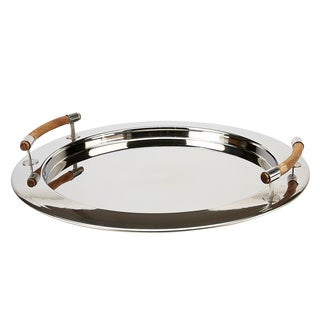 IMPULSE! 'Sorma' Rustic Stainless Steel Serving Tray