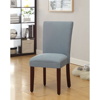 HomePop Aqua Pool Textured Parson Dining Chair (Set of 2)