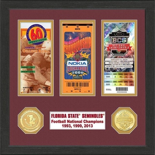 Florida State 2014 BCS National Champions Ticket and Coin Collection