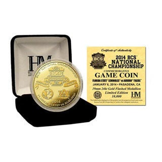 2014 BCS National Championship Gold Mint Coin
