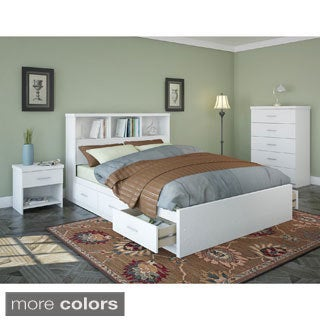 Sonax Queen Storage Bed 4-piece Bedroom Set