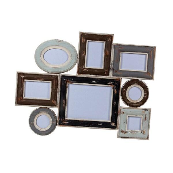 Vintage Horizontal Multi Wall Photo Frame