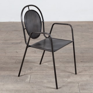 Toby Metal Dining Chair (India)