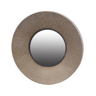 Small Metal Beveled Mirror