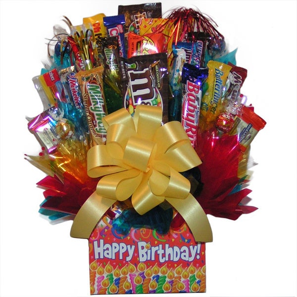 Happy Birthday Chocolate/Candy Box Bouquet