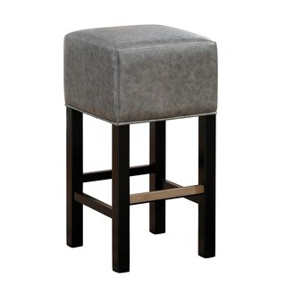 Isis Black Counter Height Stool