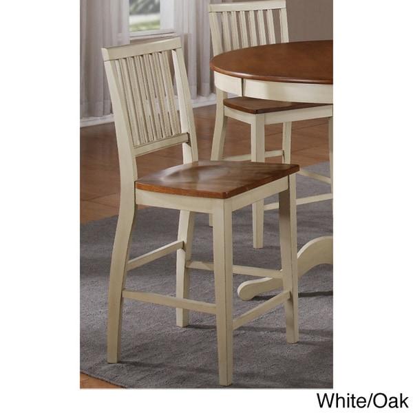Vaughn Espresso Counter Height Chair Set Of 2
