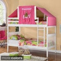 Kids Mission Twin Tent Bunk Bed