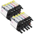 Sophia Global Compatible Ink Cartridge Replacement for Brother LC75 (4 Black, 2 Cyan, 2 Magenta, and 2 Yellow)