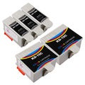 Sophia Global Compatible Ink Cartridge Replacement for Kodak 10XL B (3 Black, 2 Color)