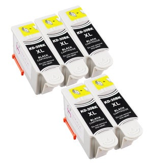 Sophia Global Compatible Ink Cartridge Replacement for Kodak 30XL (5 Black)