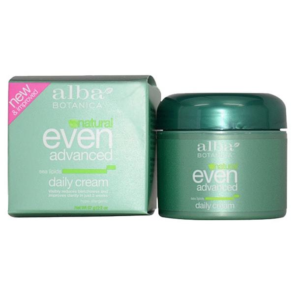 Alba Botanica Even Advanced Sea Lipids 2-ounce Daily Cream