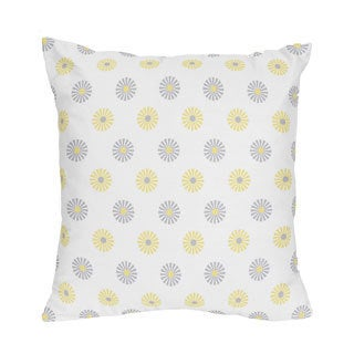 Sweet Jojo Designs Mod Garden Decorative Throw Pillow