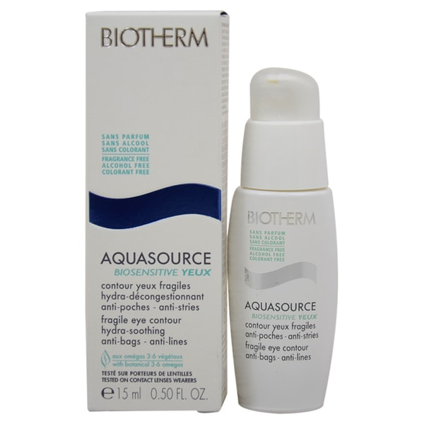Biotherm Aquasource Biosensitive Yeux Fragile Eye Contour Cream