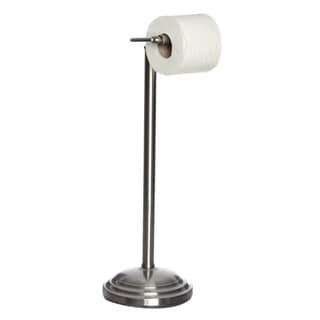 Satin Nickel Pedestal Toilet Tissue Holder