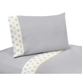 Sweet JoJo Designs Mod Garden Sheet Set