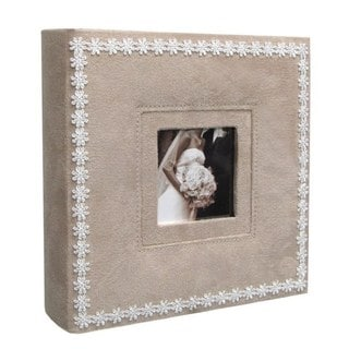 Kleer Vu Beige Leatherette Photo Album
