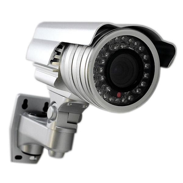 Aposonic A-CDBIV07 1000 TV-lines 2.8-12mm Varifocal lens WDR Surveillance CCTV Weather-proof IR Bullet Camera