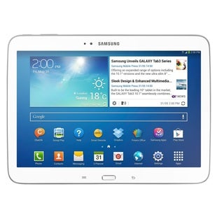 Samsung Galaxy Tab 3 P5200 16GB White 10.1-inch 3G Android 4.2 Tablet