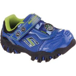 Boys' Skechers Hot Lights Damager II Adventurer Blue/Black