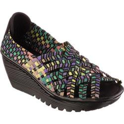 Women's Skechers Parallel Unbeweaveable Black/Multi
