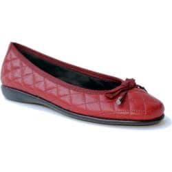 Women's The Flexx Bon Gout Jester Red Cashmere