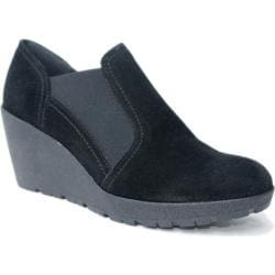 Women's The Flexx Catchup Black Suede