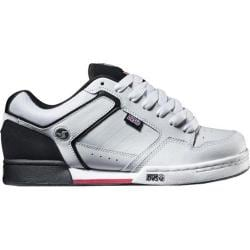 DVS Transom White/Black Leather