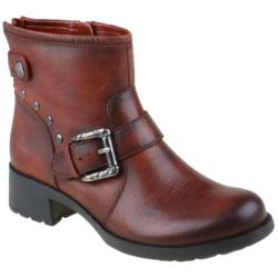 Women's Earth Redwood Bordeaux Tumbled Leather