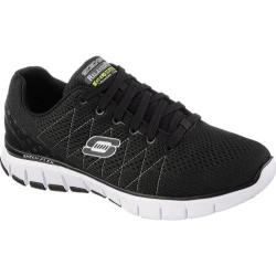 Men's Skechers Relaxed Fit Skech-Flex Black/White