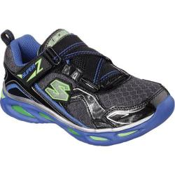 Boys' Skechers S Lights Ipox Black/Charcoal