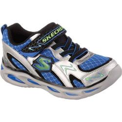Boys' Skechers S Lights Ipox Rayz Silver/Royal