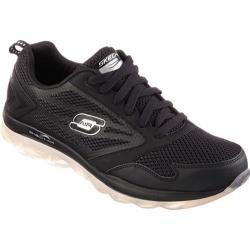 Men's Skechers Skech-Air Black/Silver