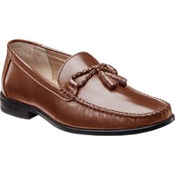 Men's Nunn Bush Newbury Tassel Cognac Leather